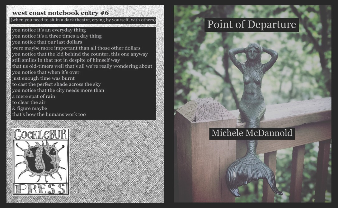 Michele McDannold, Point of Departure, jacket